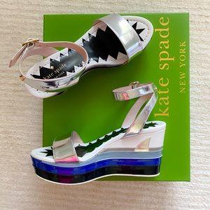 🆕Kate Spade Tiana shark wedges